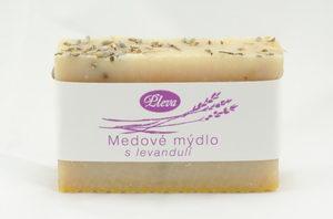 Medové mýdlo s levandulí - Pleva