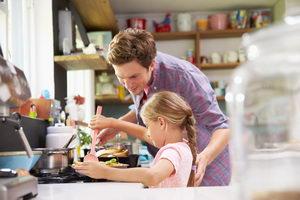 zábava pro děti o prázdninách, vaření