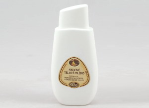 Přírodní medové tělové mléko, skvalan, pleva