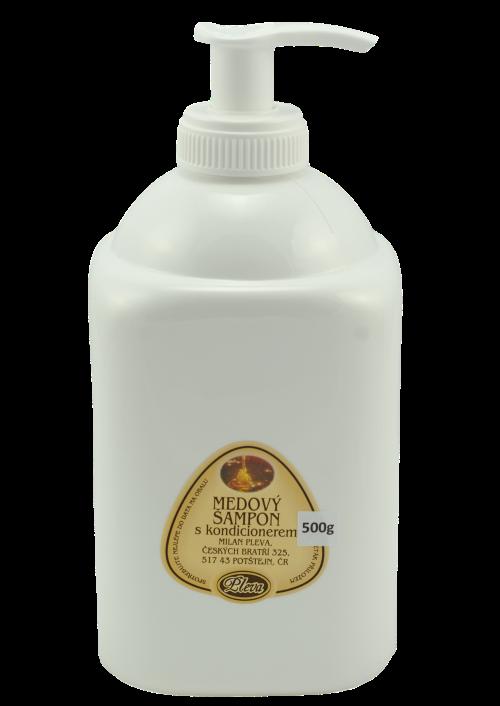 Medový šampon s kondicionérem 500g - Pleva