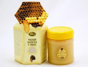 Mateří kašička v medu, užívání mateří kašičky