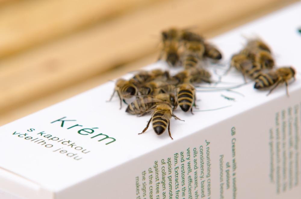 Krém s kapičkou včelího jedu Pleva