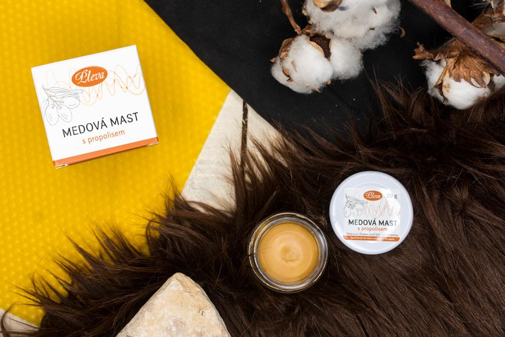 Honey ointment with propolis, Pleva