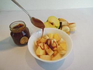 guarana s ovocem, recept