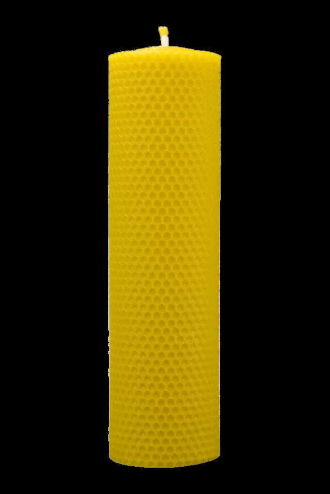 Pleva Svíčka ze včelího vosku, šíře 60mm, výška 200mm