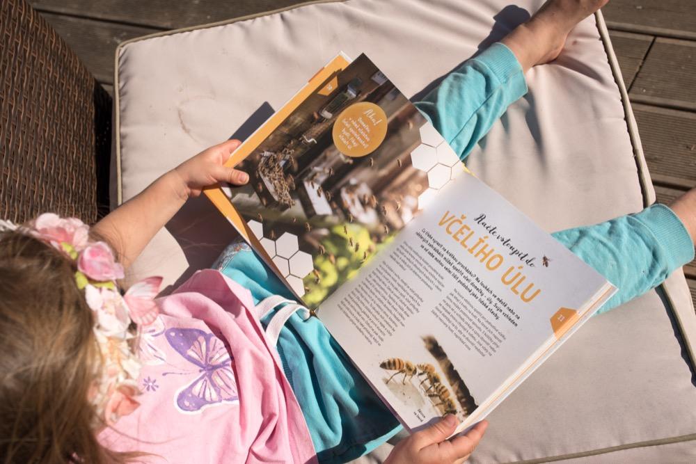 Dětská kniha Jeden rok v životě včely