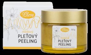 Hautpeeling mit Honig, Pleva