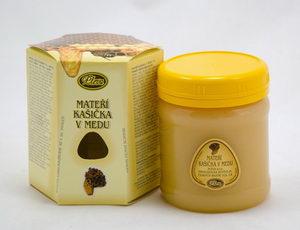 Mateří kašička v medu