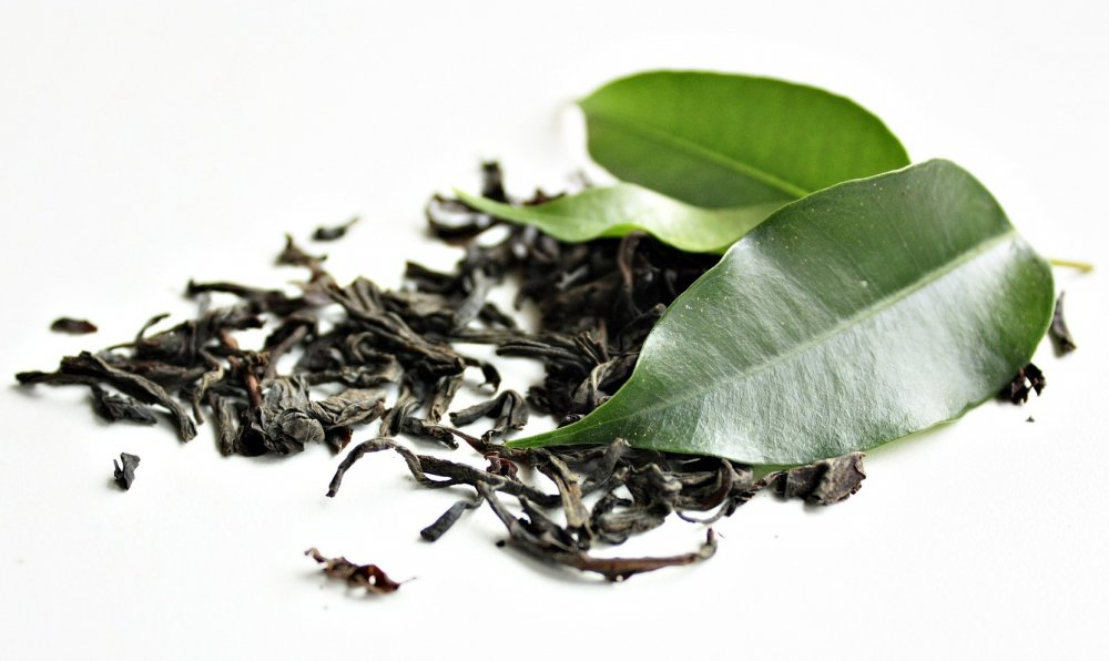 přírodní léčba růžovka, zelený čaj