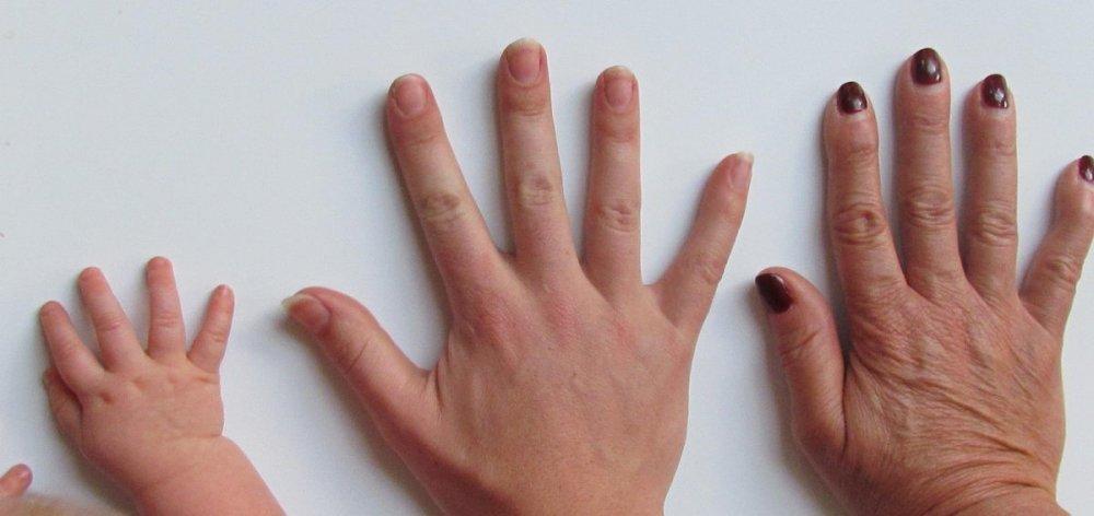 obnova pokožky, kůže podle věku