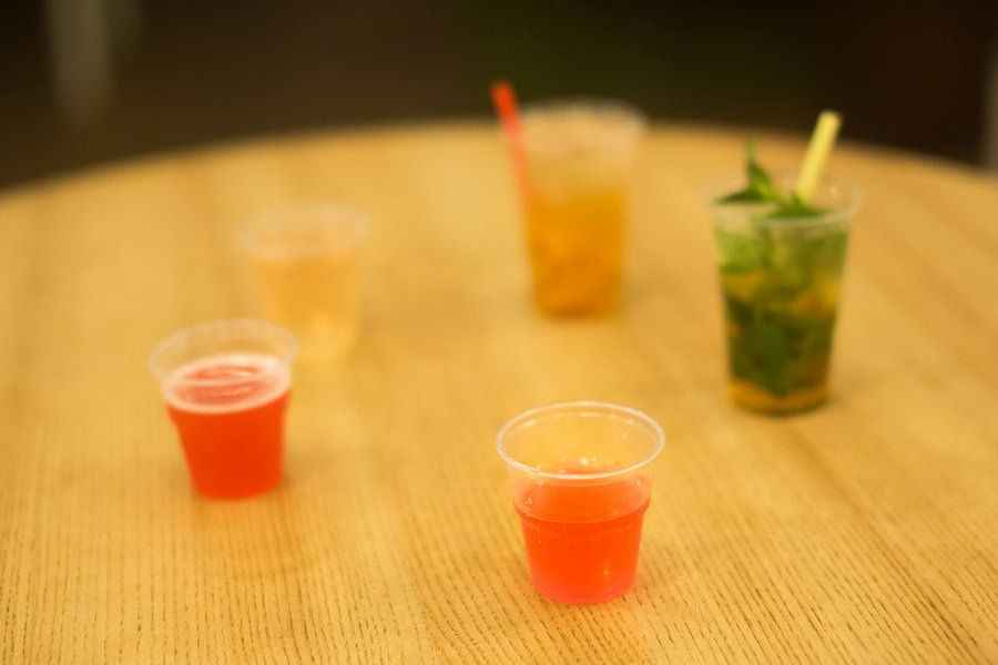 British acacia - míchaný drink muzea medovin a pleva