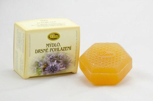 Mýdlo drsné pohlazení - pleva