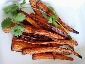 Detoxikační recepty, zeleninové hranolky