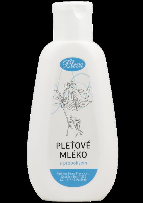 Pleťové mléko s propolisem, kosmetika na akné, Pleva