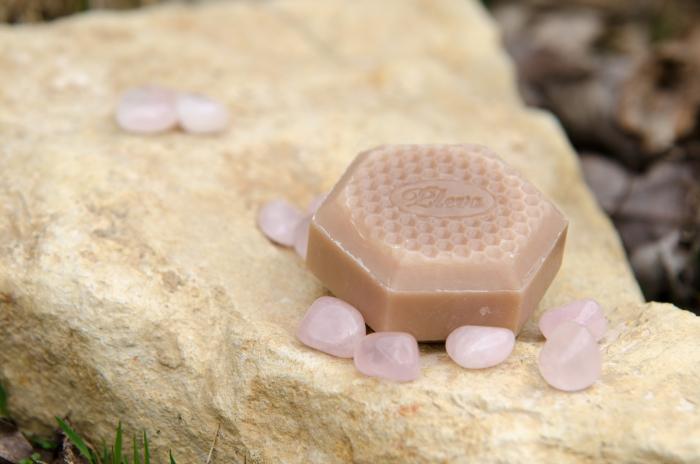 Mýdlo, které překvapí s růženínem Pleva