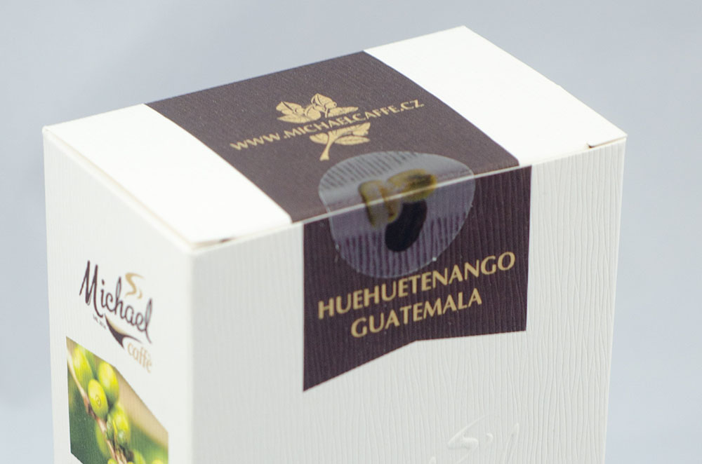 100% jednodruhová káva Arabica Michael Caffè Huehuetenango