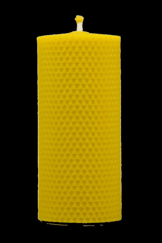 Pleva Svíčka ze včelího vosku, šíře 70mm, výška 133mm