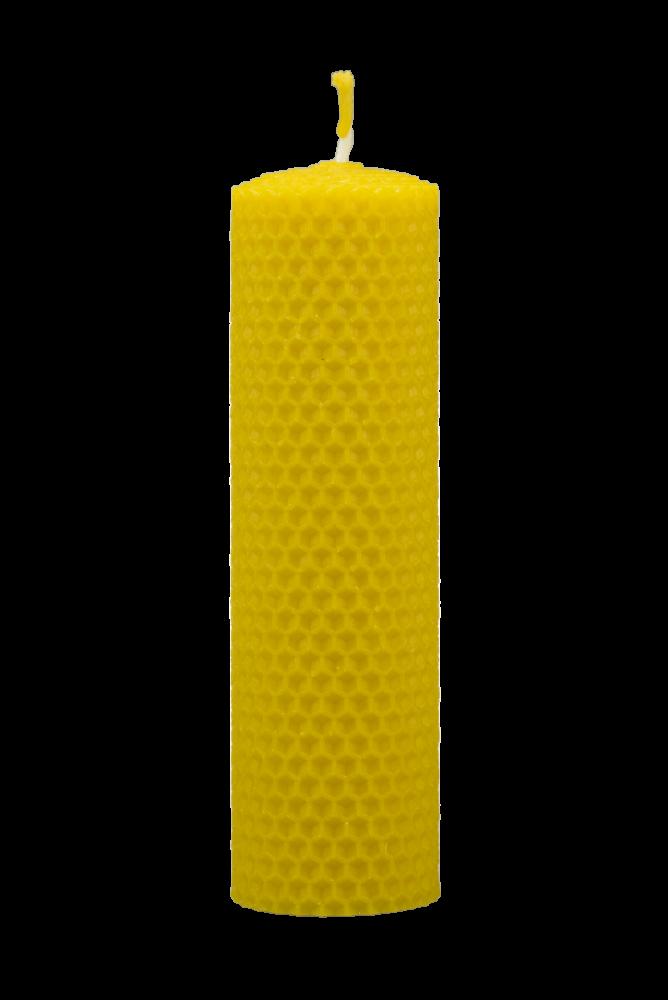 Pleva Svíčka ze včelího vosku, šíře 40mm výška 160mm