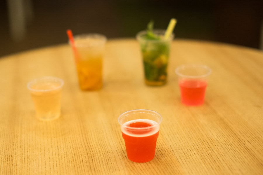 medovina drink, koktejl z medoviny