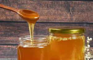 med jako prevence, tekutý med na lžičce, pleva