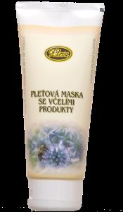 péče o pleť, Pleťová maska se včelími produkty