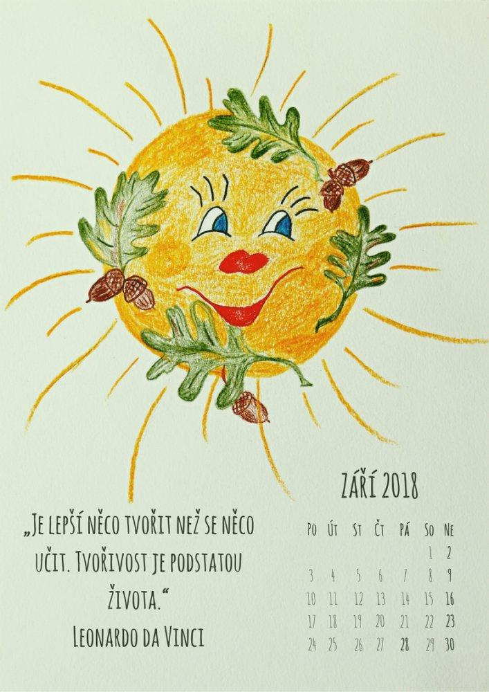 Sluníčkový kalendář - září