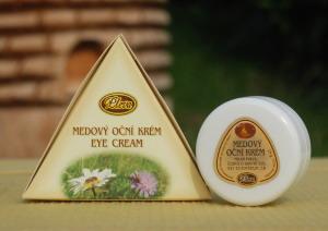 Medový oční krém, Pleva, nové složení - skvalan
