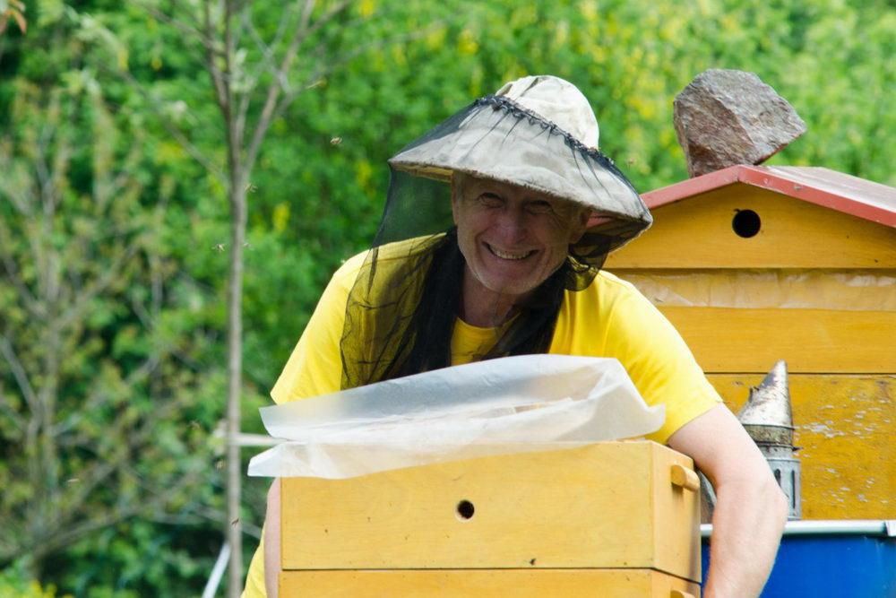 práce se včelami, včelař
