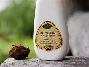 Pleťové mléko s propolisem