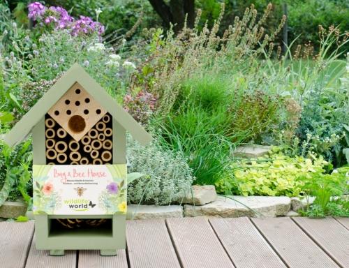 Domek pro užitečný hmyz a včely samotářky Wildlife World, Pleva