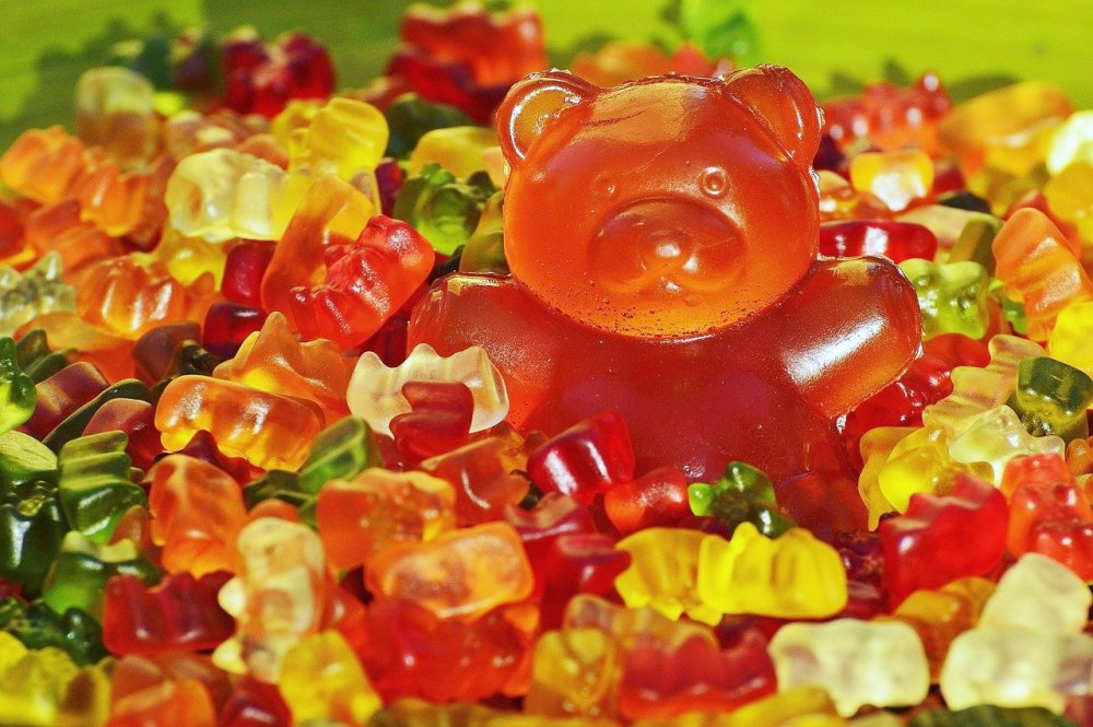 jsou gumoví medvídci zdraví?