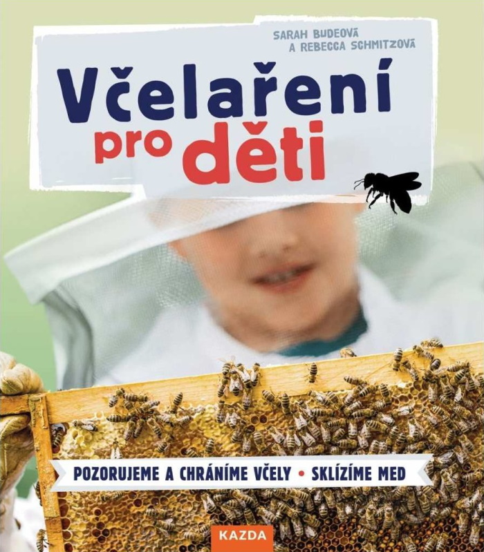 Dětská kniha Včelaření pro děti