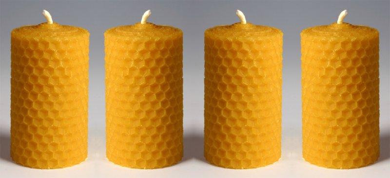 4x svíčky na Advent