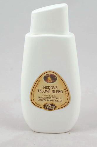Medové tělové mléko - pleva,