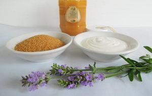 Domácí jogurtový peeling, Pleva