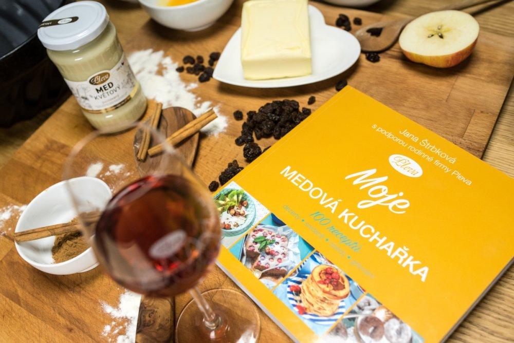recepty s medem, medové recepty, medová kuchařka
