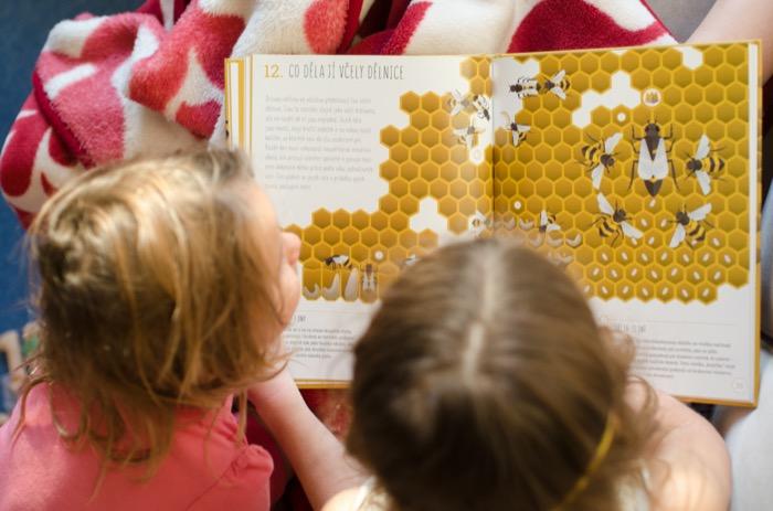Dětská kniha Úžasný svět včel, Pleva