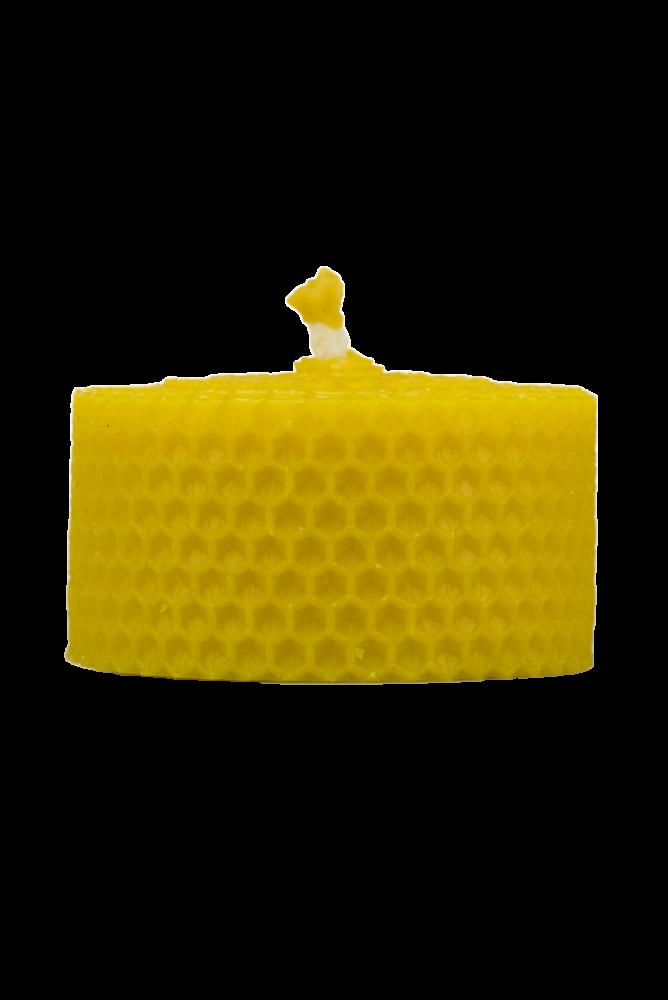 Pleva Svíčka ze včelího vosku, šíře 70mm, výška 33mm