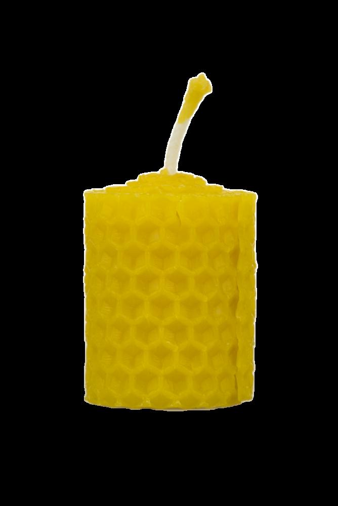 Pleva Svíčka ze včelího vosku, šíře 30mm, výška 33mm