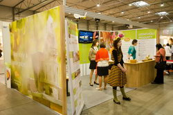 jarní world of beauty and spa 2015 stánek firmy Pleva