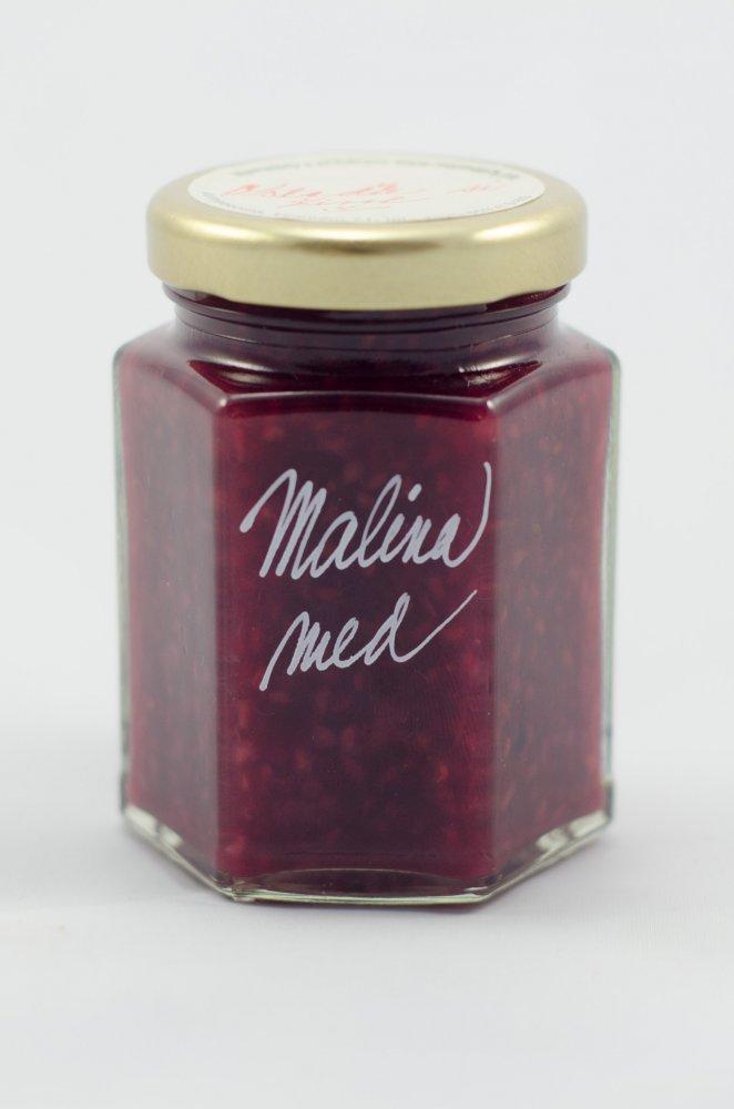 Malinová marmeláda s medem