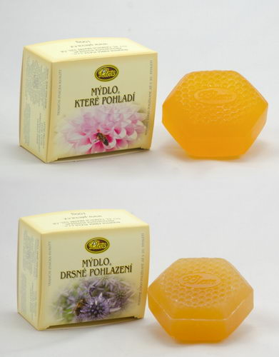 Mýdlo které pohladí + Mýdlo drsné pohlazení, Pleva