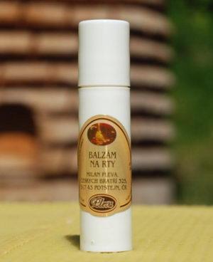 Medový balzám na rty kulička - Pleva,