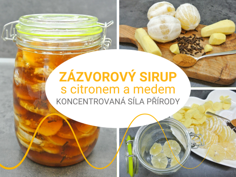 A miracle syrup of ginger, honey, cloves and lemon