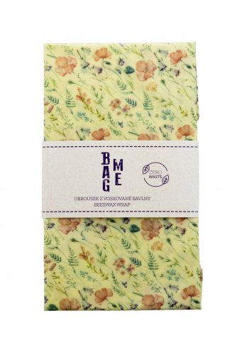 beeswax-wraps 38x38 - colour: colorful flowers