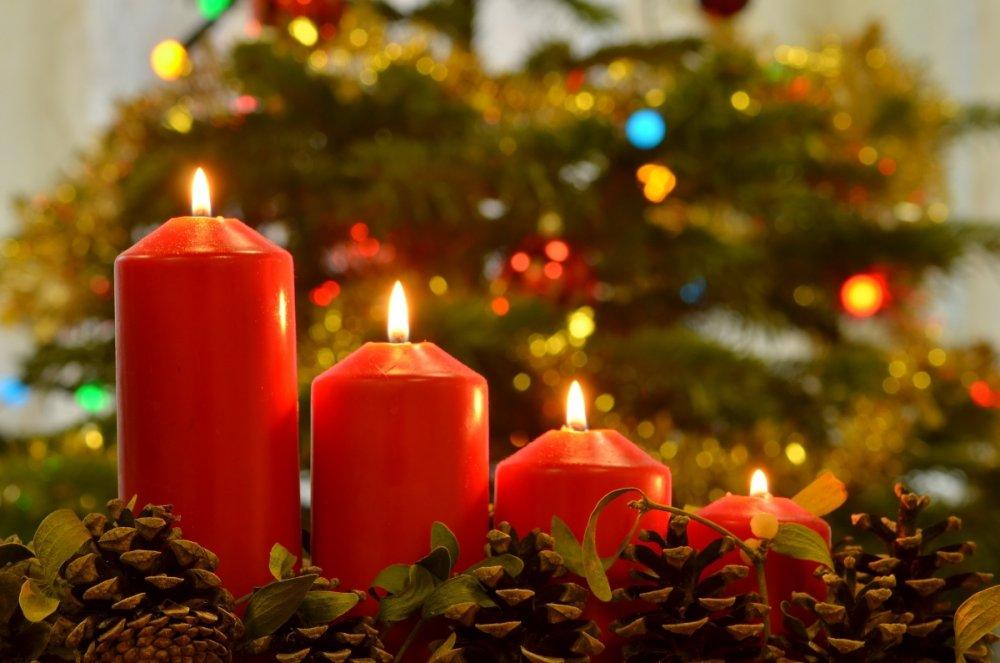 kovidové Vánoce