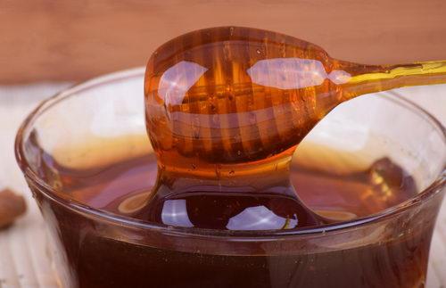 dárková krabička s medy, krystalizace