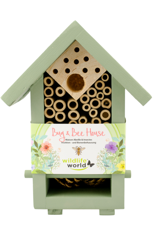 Hmyzí hotel malý pro užitečný hmyz a včelky samotářky