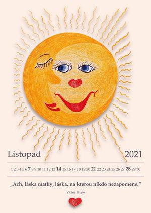 Kalendář 2021, Anděl bez křídel je Maminka, pro maminky, Pleva