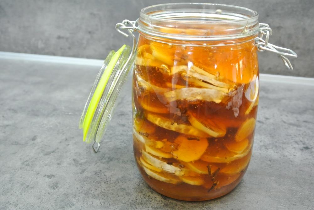 Recept na zázvorový sirup s citronem a medem
